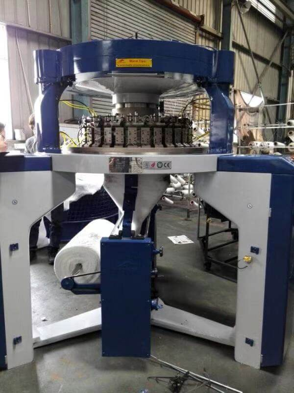 Pile Loop Shearing Circular Knitting Machine 08