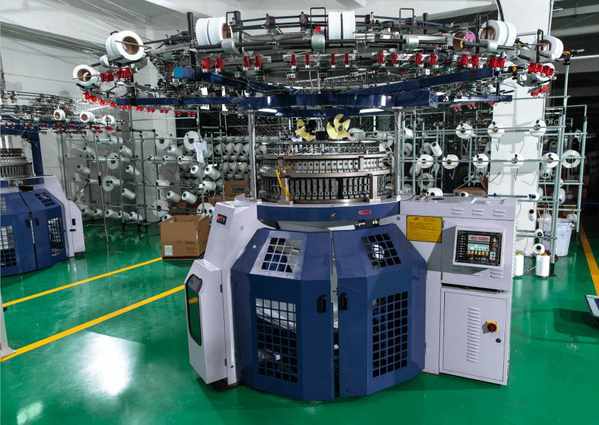 Single jersey jacquard knitting machine(utopian) 09