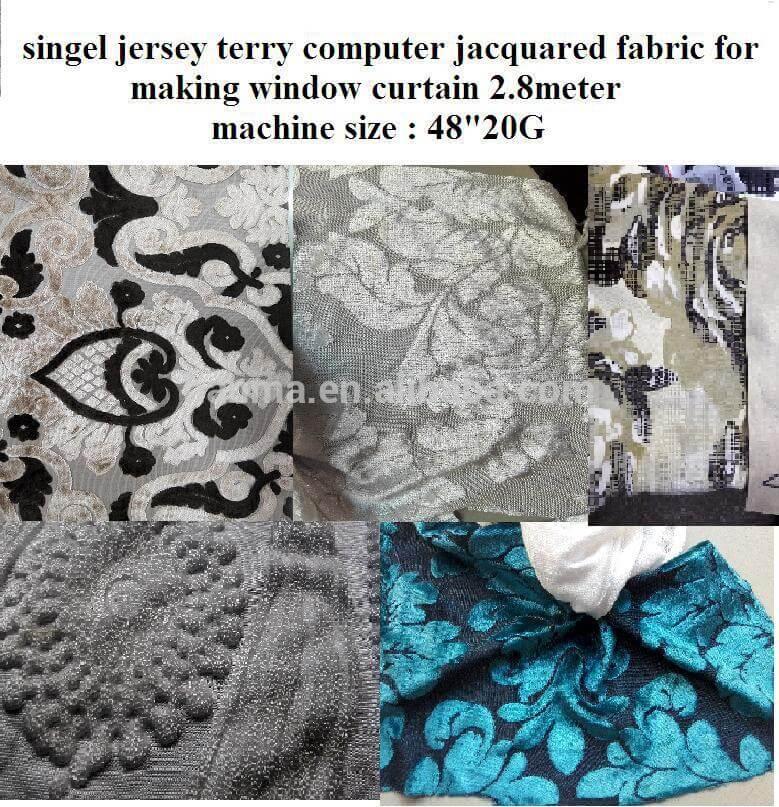 Single Terry Jacquard Circular Knitting Machine (Three Jacquard) 02