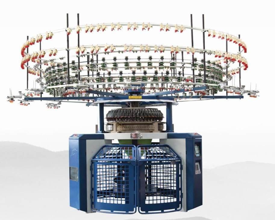 COMPUTERIZED SINGLE JERSEY AUTO-STRIPER CIRCULAR KNITTING MACHINE