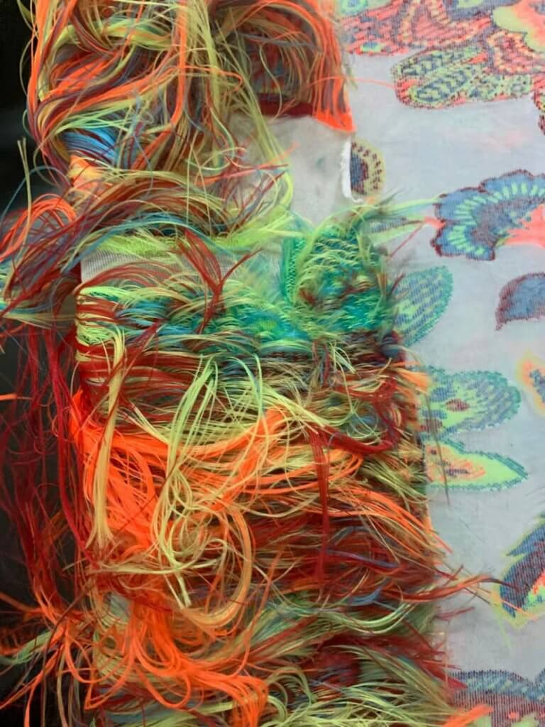 SINGLE TERRY FLOAT THREAD COMPUTER JACQUARD CIRCULAR KNITTING MACHINE fabric