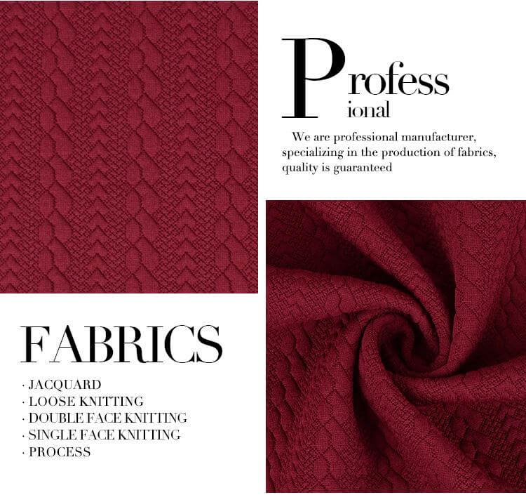 single jacquard fabric 4