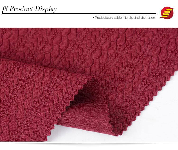 single jacquard fabric