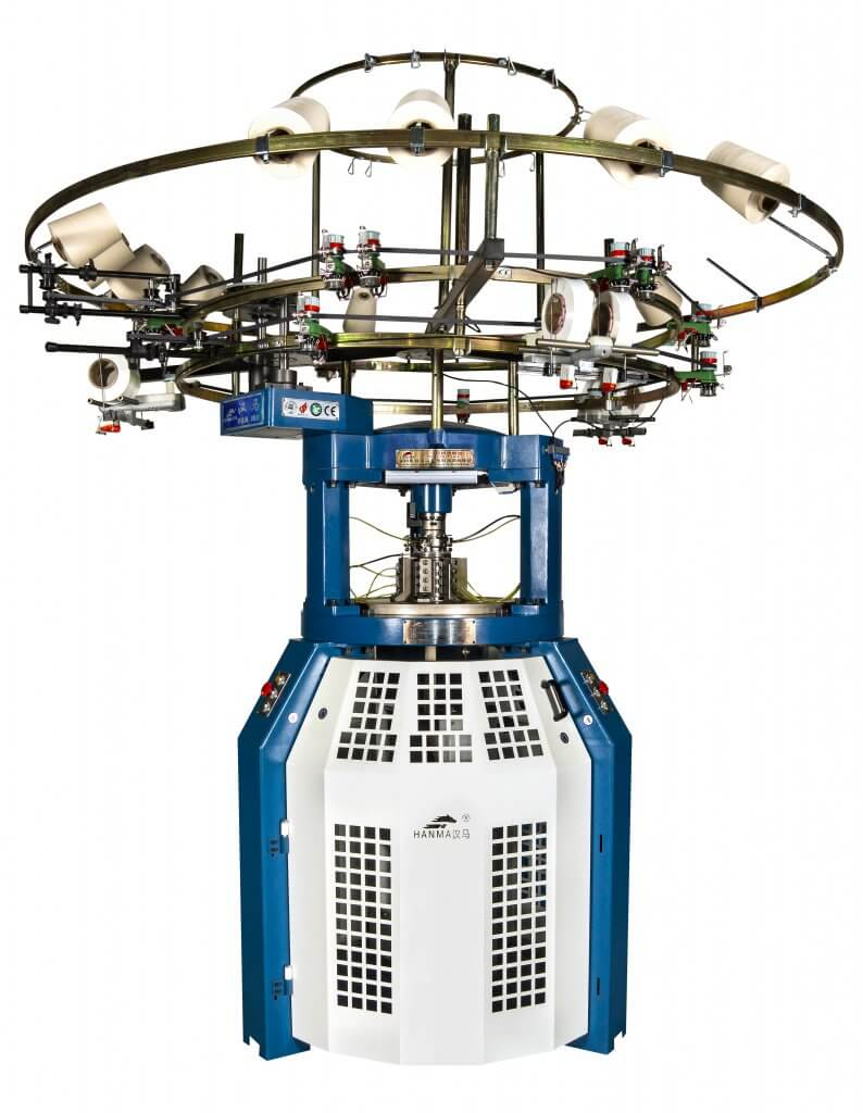 Hanma Small Size Rib circular knitting machine